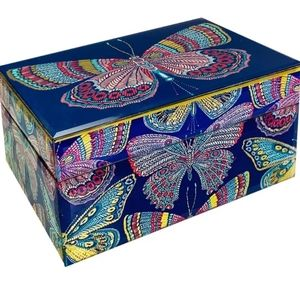 Trina Turk Butterfly Accessories Box, Large
